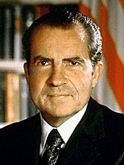 The official Presidential Photograph of Richard Nixon, the 37th President of the United States