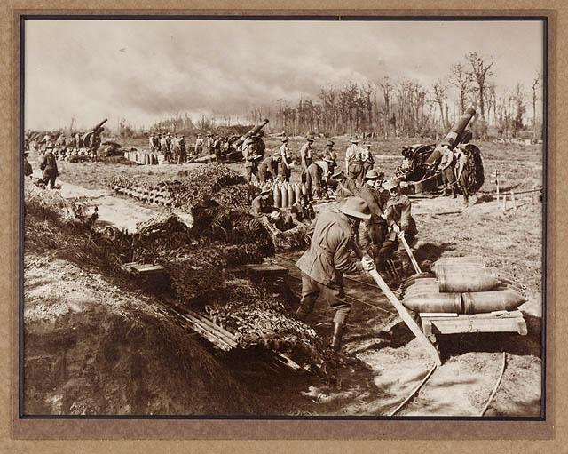 File:54 Battery Australian Siege Artillery in action (2867557774).jpg