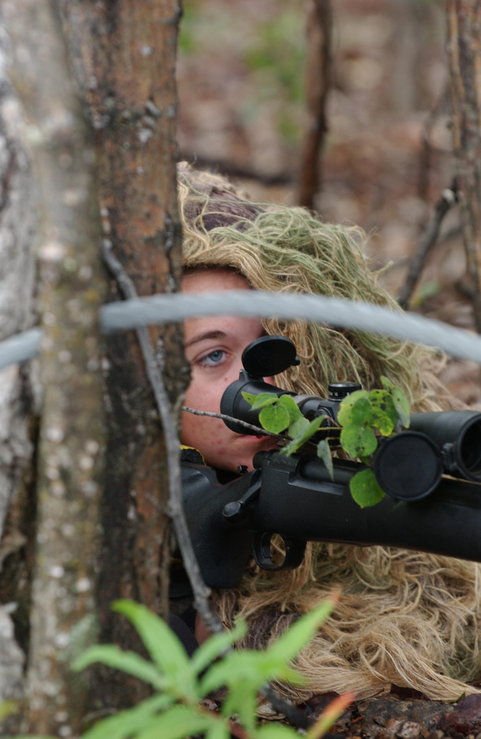 Us air force female sniper