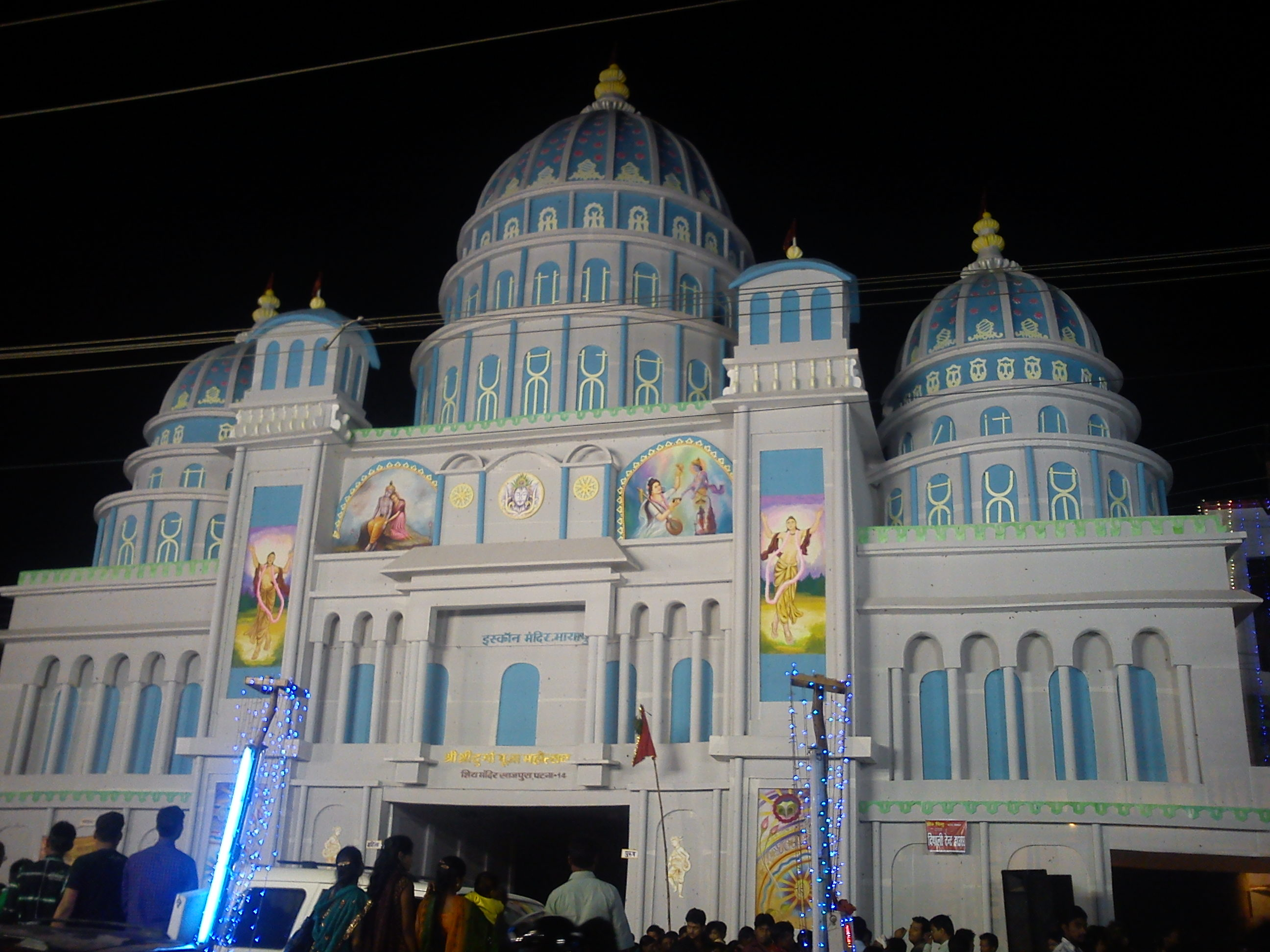 Filea durga puja pandal at patna biharg wikimedia commons filea durga puja pandal at patna biharg thecheapjerseys Images