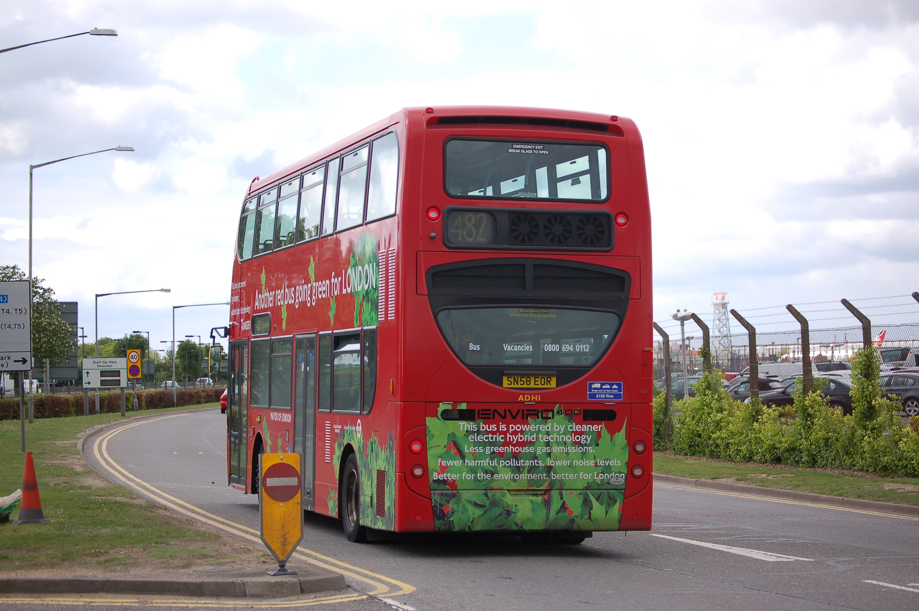 Hybrid Technology History File:a Hybrid Technology Bus