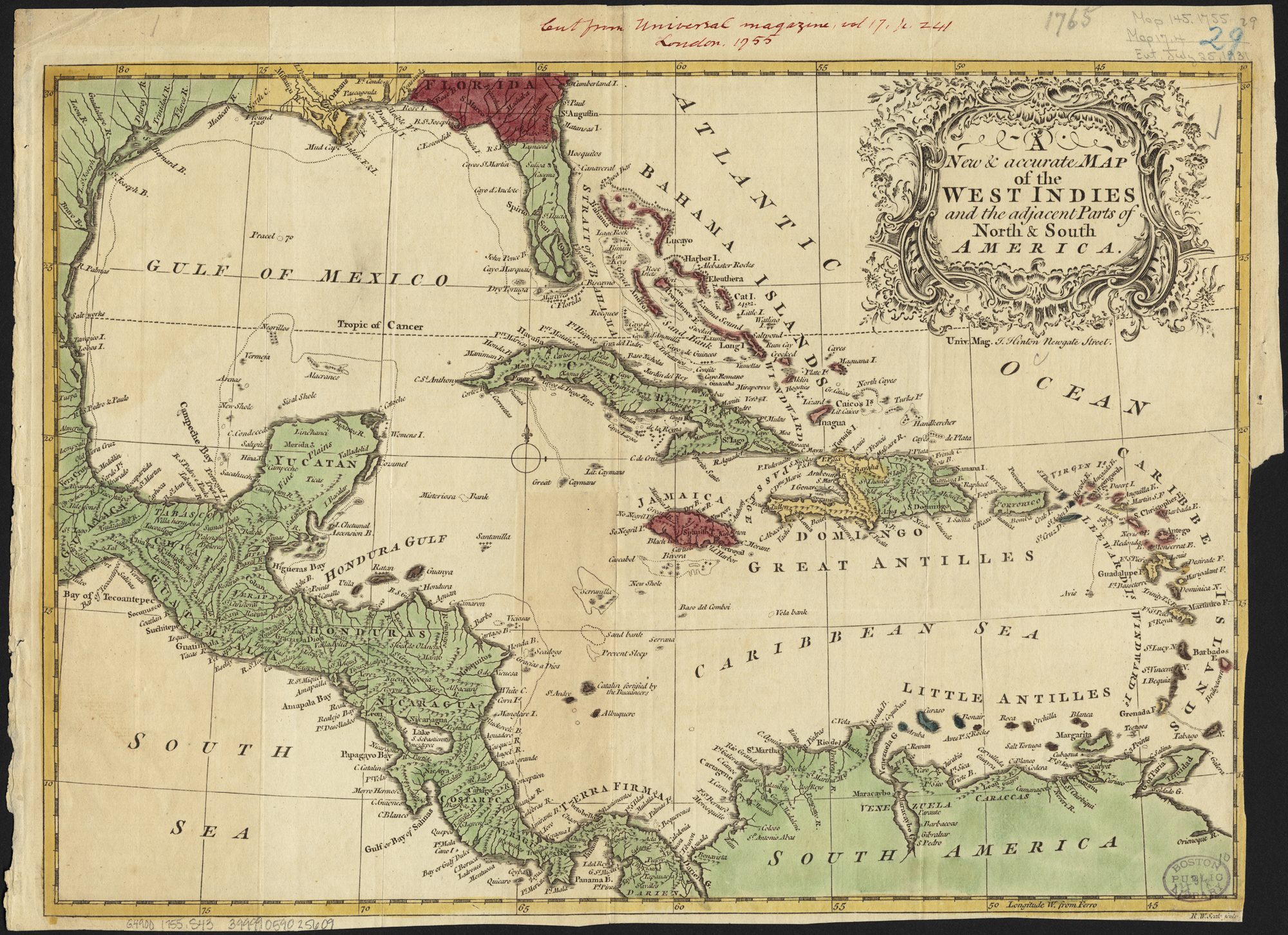 Filea new accurate map of the west indies and the adjacent parts filea new accurate map of the west indies and the adjacent parts of gumiabroncs Gallery