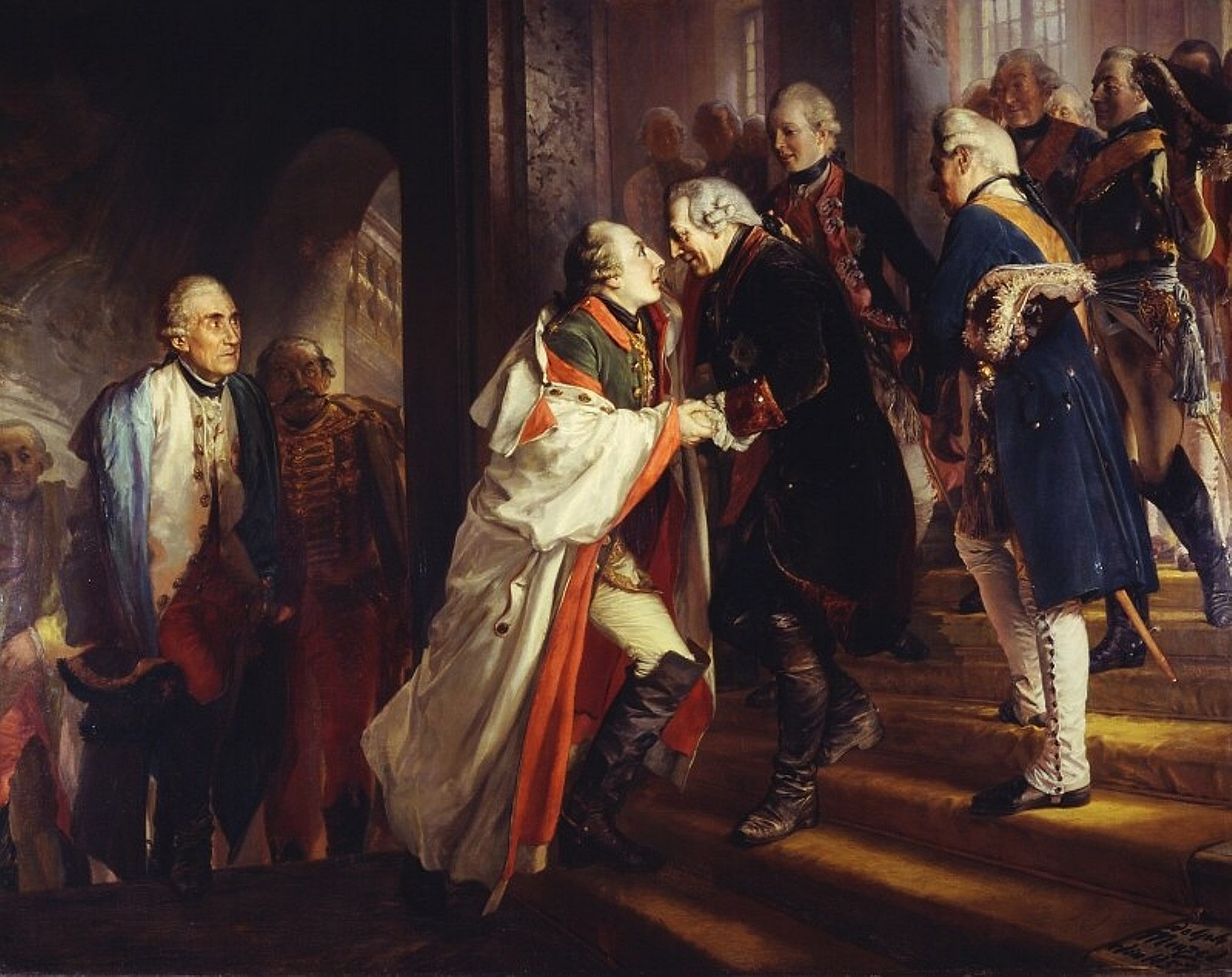 [Obrazek: Adolph_Menzel_-_Begegnung_mit_Kaiser_Jos...e_1769.jpg]