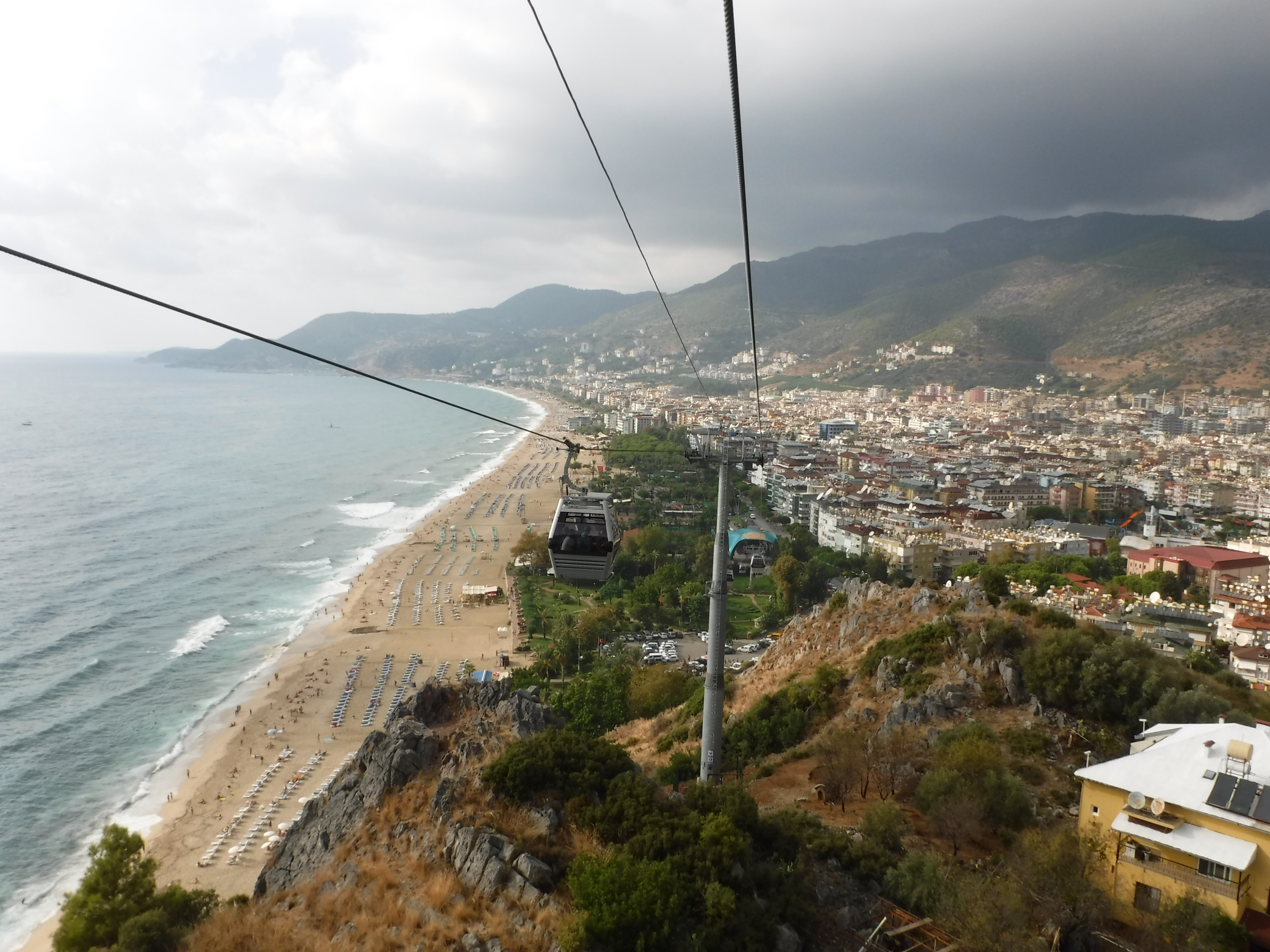 View from the Alanya Teleferik.