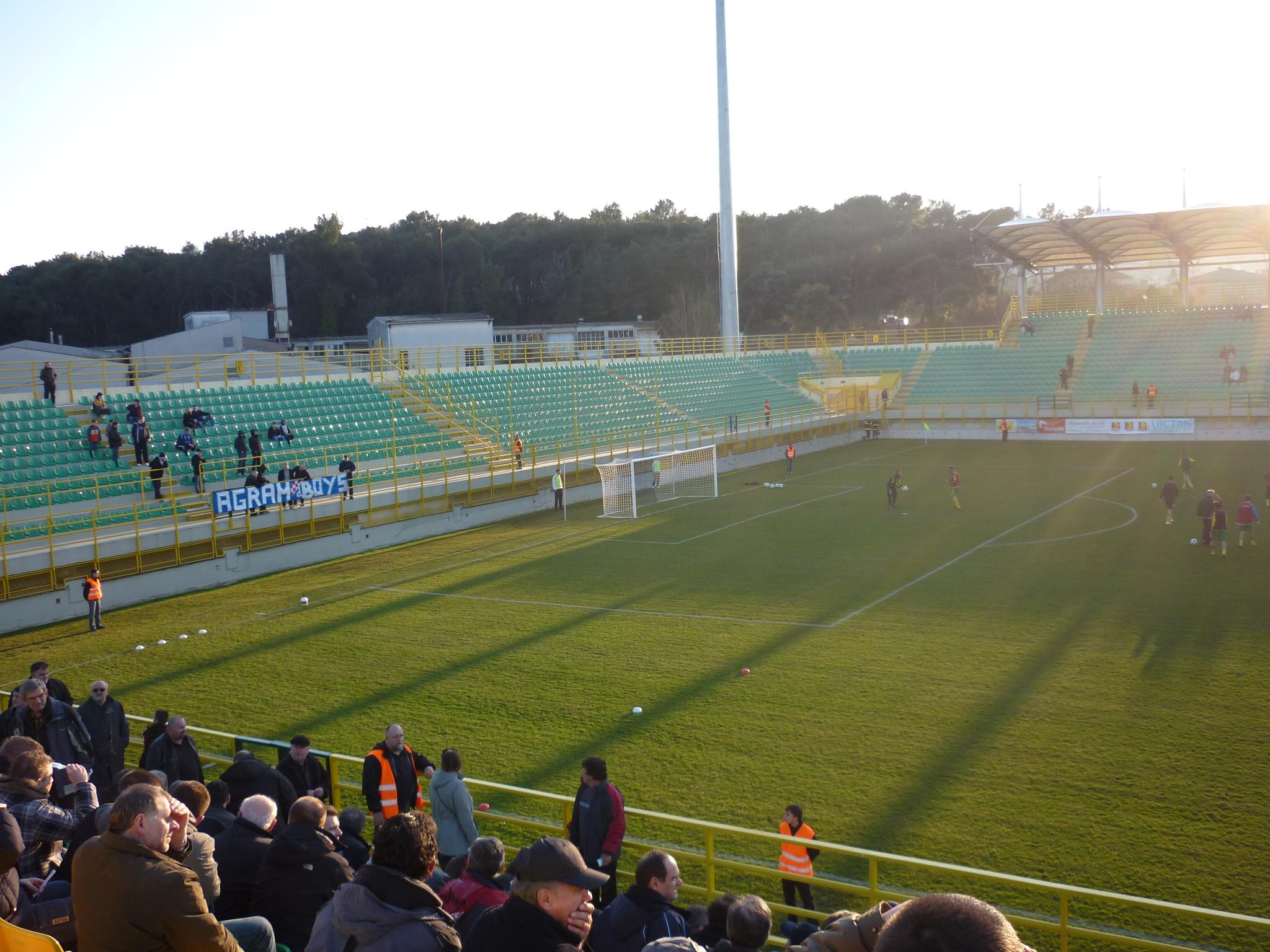 Depiction of Estadio Aldo Drosina