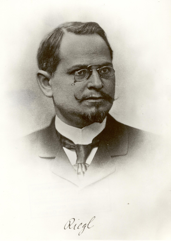 Alois Riegl, ca. 1890