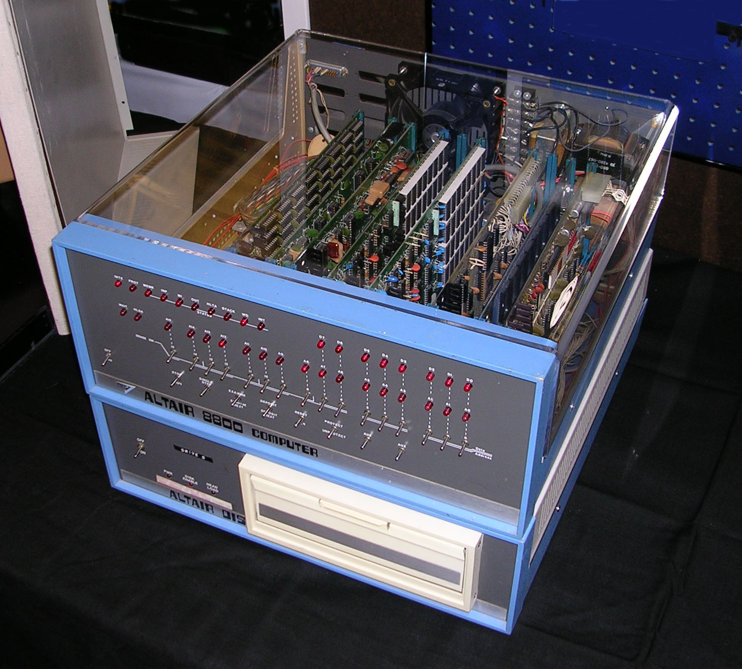 Antique Computers - Altair 8800