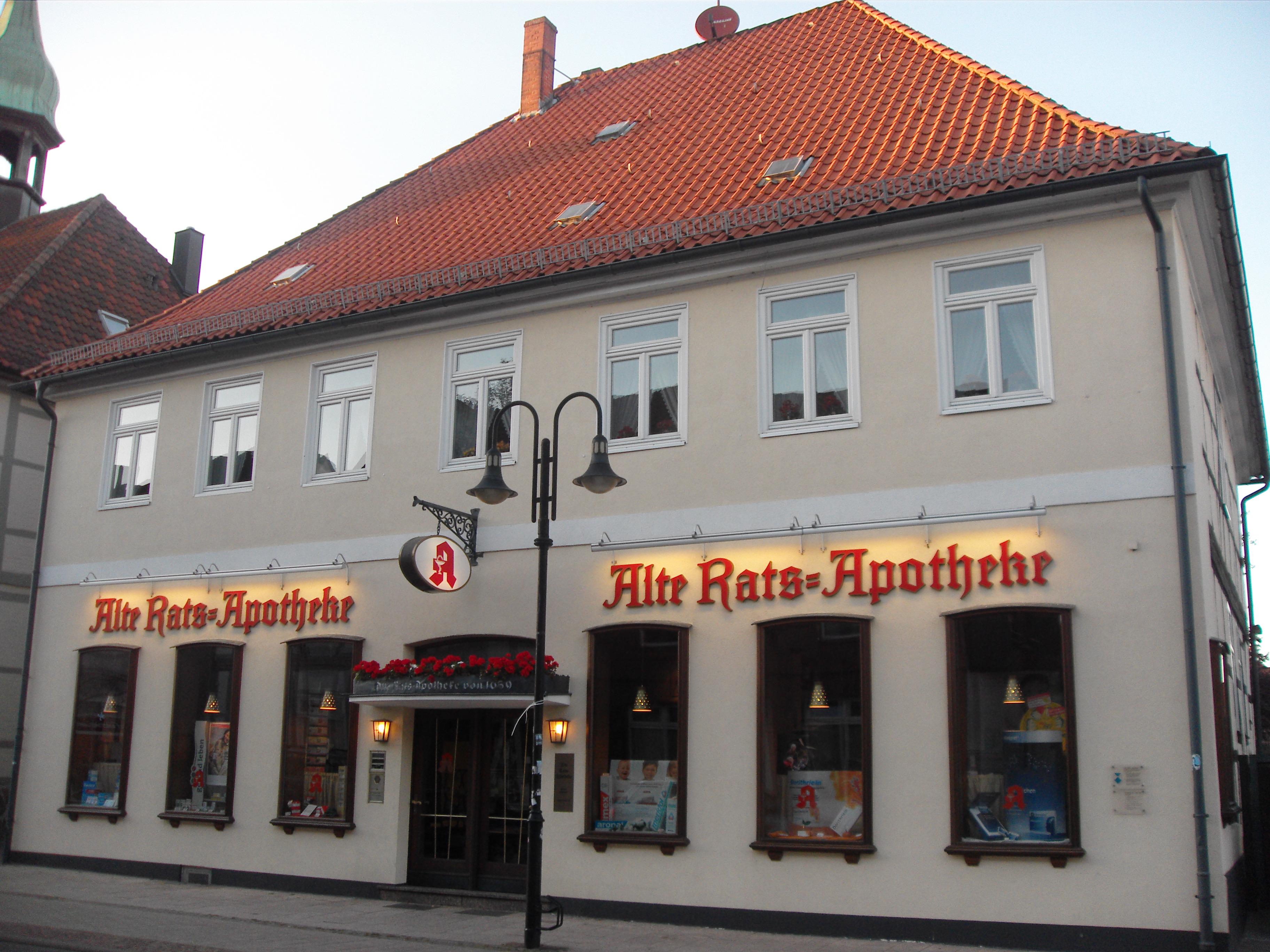 Description alte rats apotheke walsrode