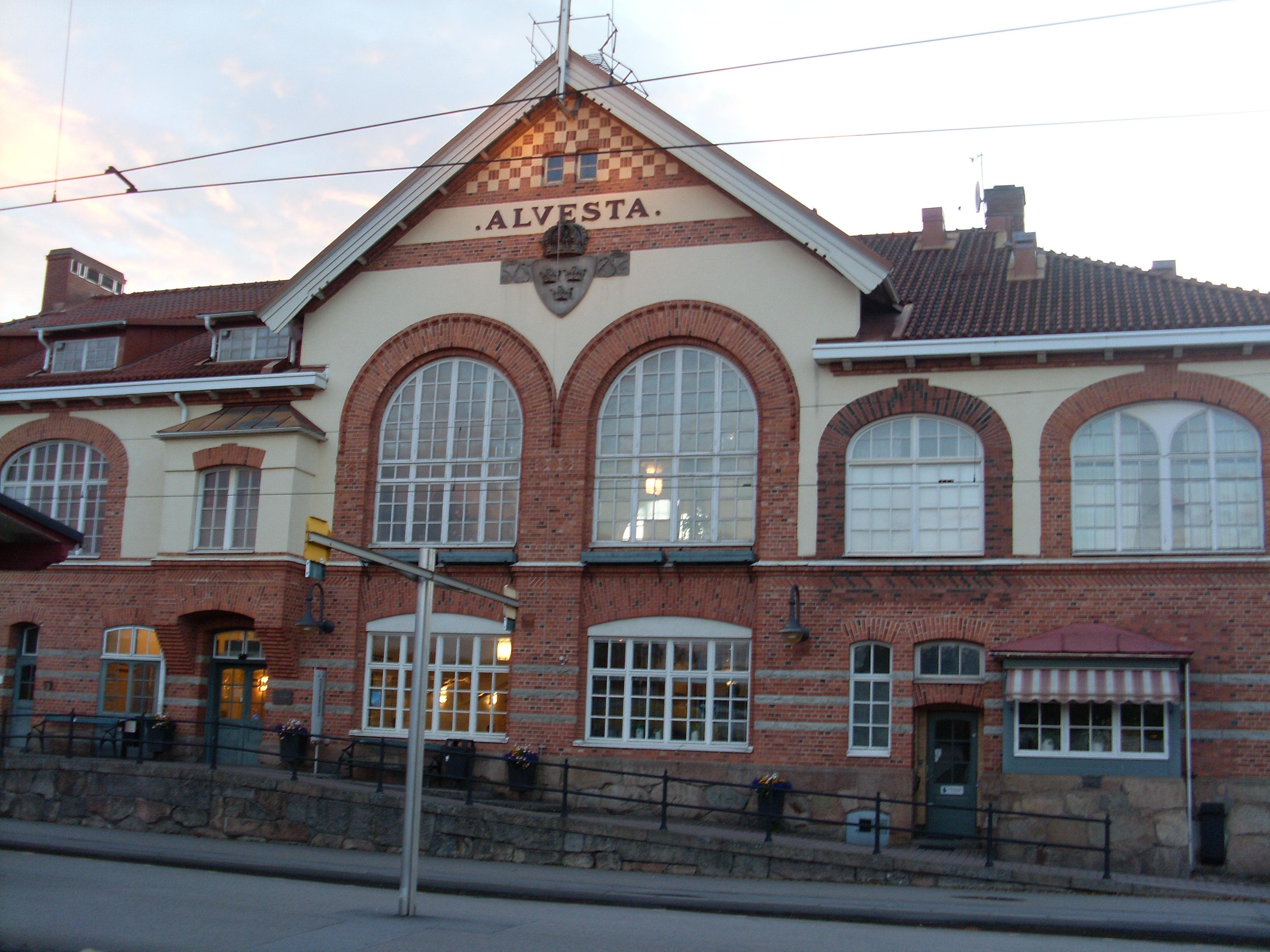 Alvesta Station   volumepills-blog.com