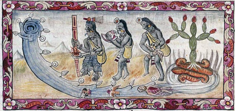 An Aztec Ritual for Flooding