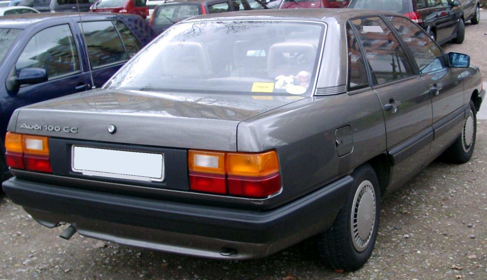 File:Audi 100 C3 rear 20080228.jpg - Wikimedia Commons