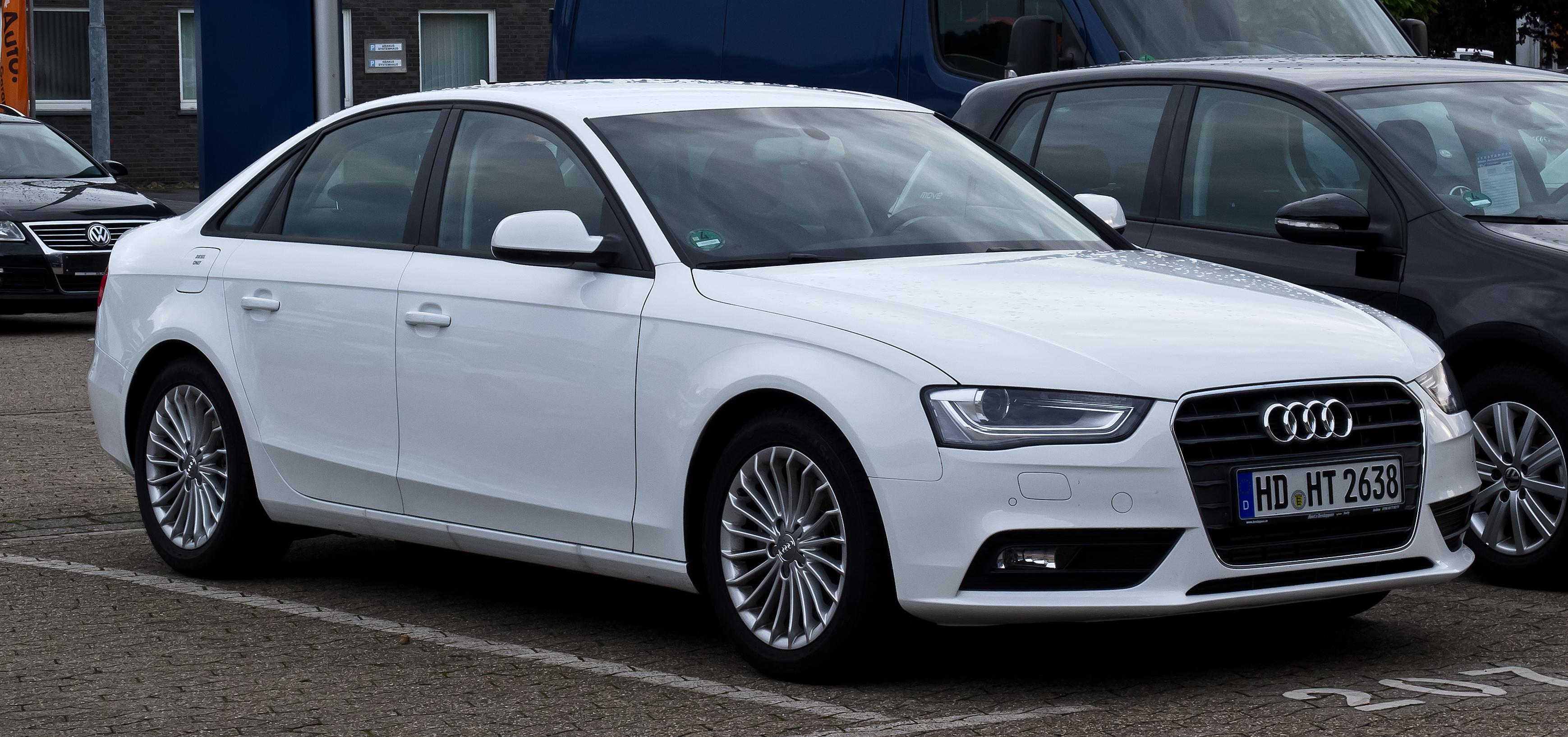Audi a4 avant 2016 white 15