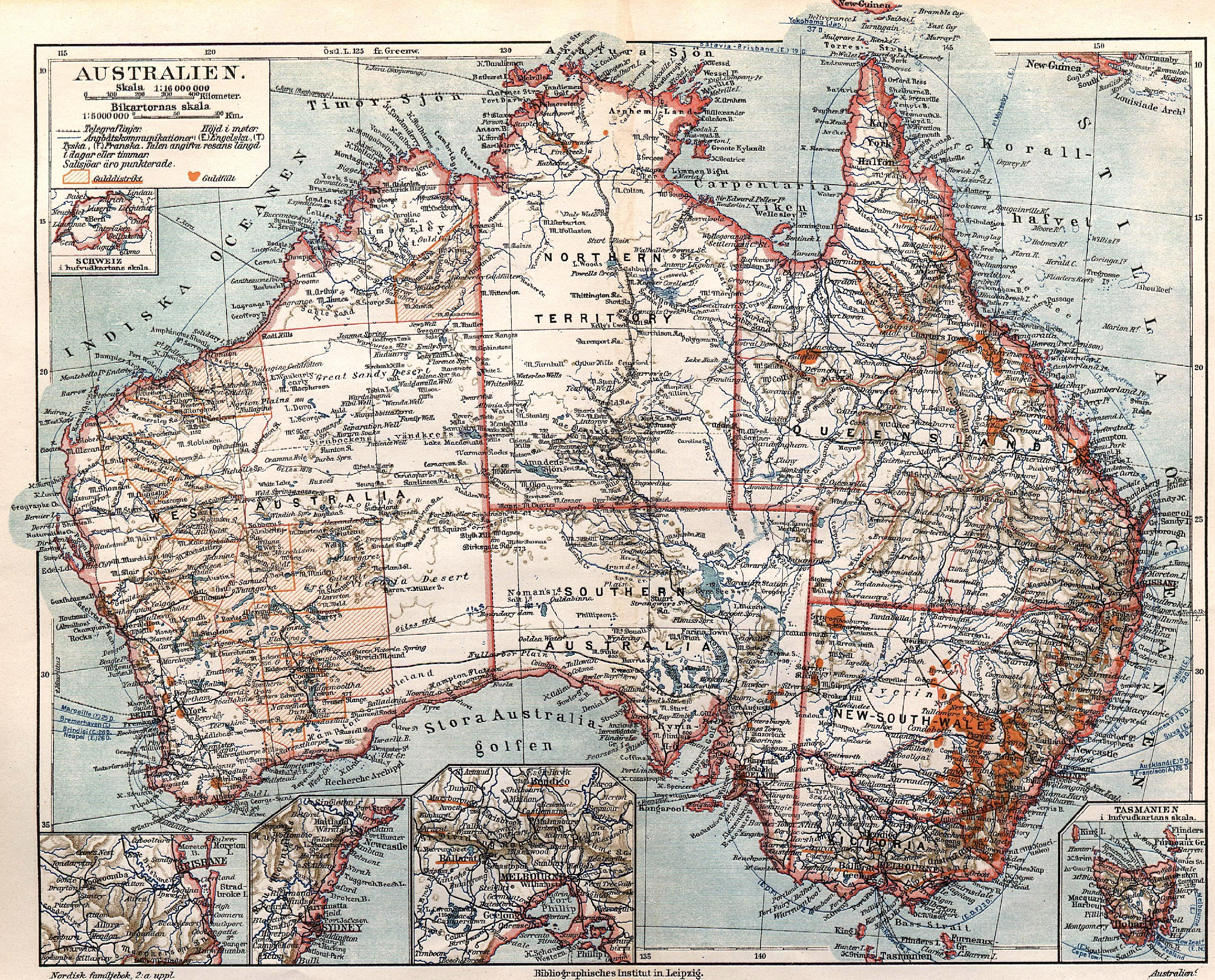Fil Australien Karta Nordisk Familjebok Jpg Wikipedia