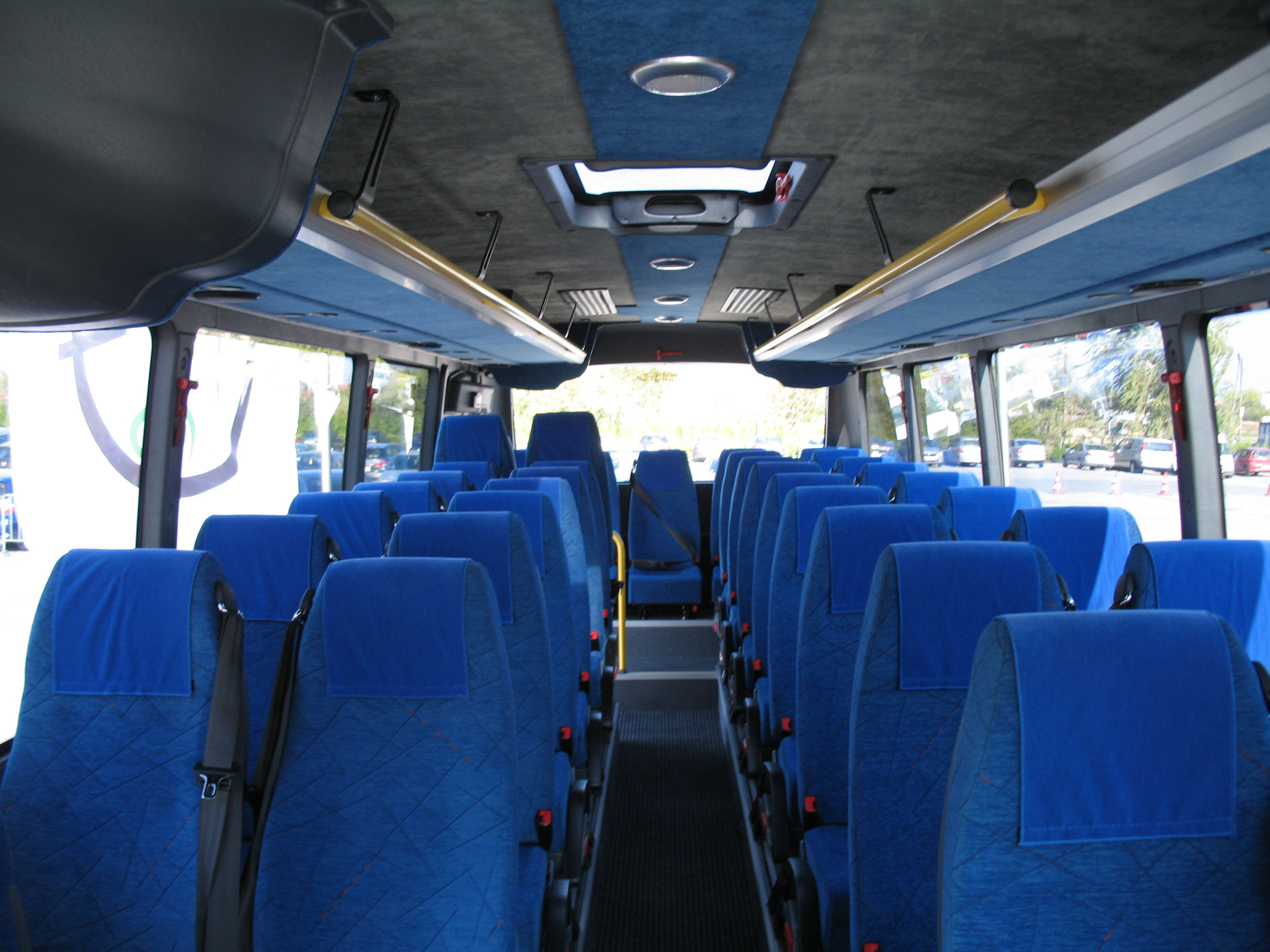 Image result for Bus interior