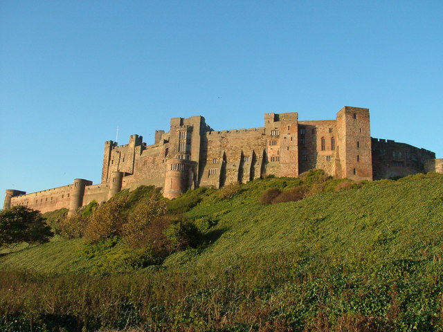 File:Bamburgh Castle. Northumberland - geograph.org.uk - 383700.jpg