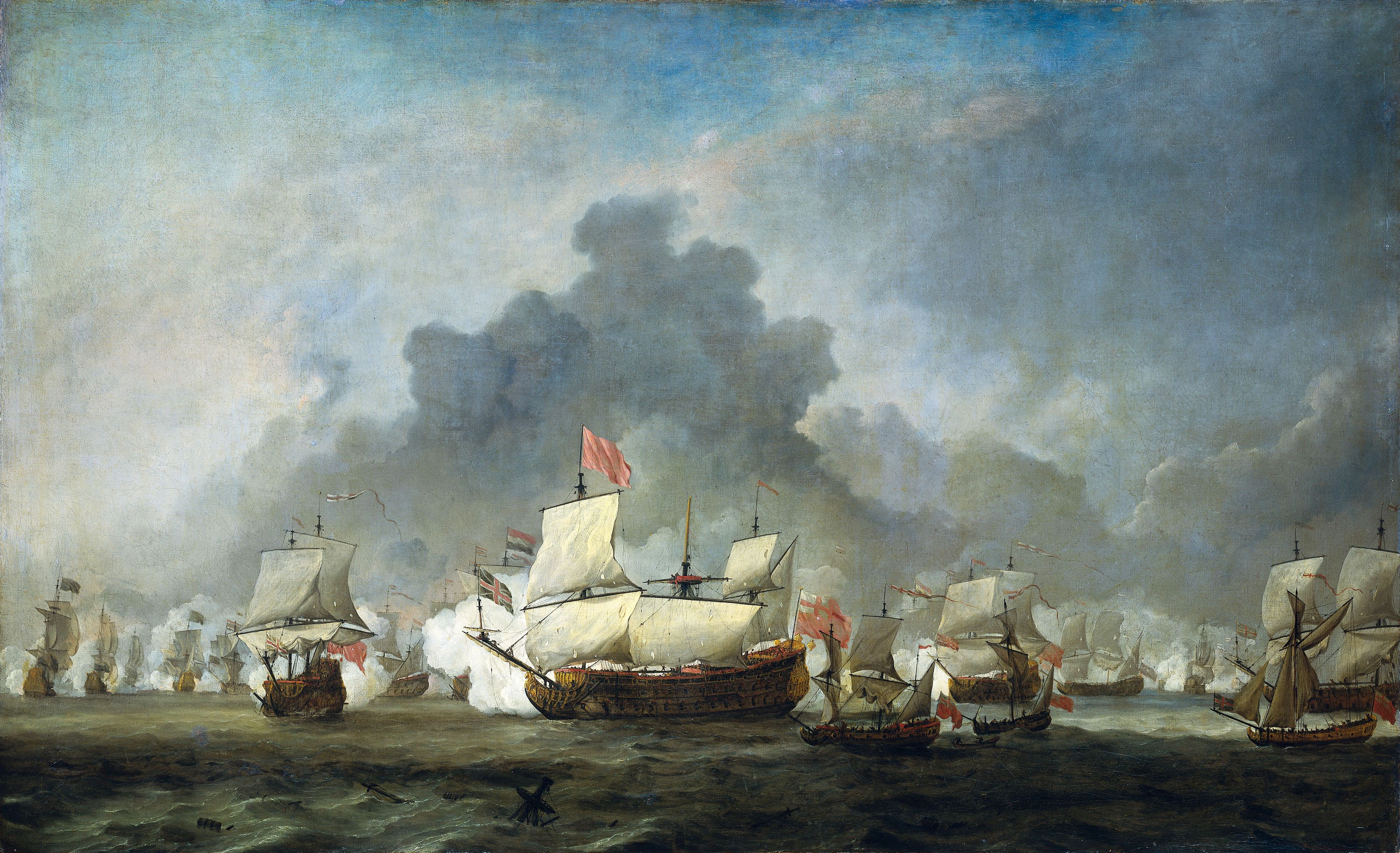 File:Battle of Solebay june 7 1672 - De Ruyter against the Duke of York
