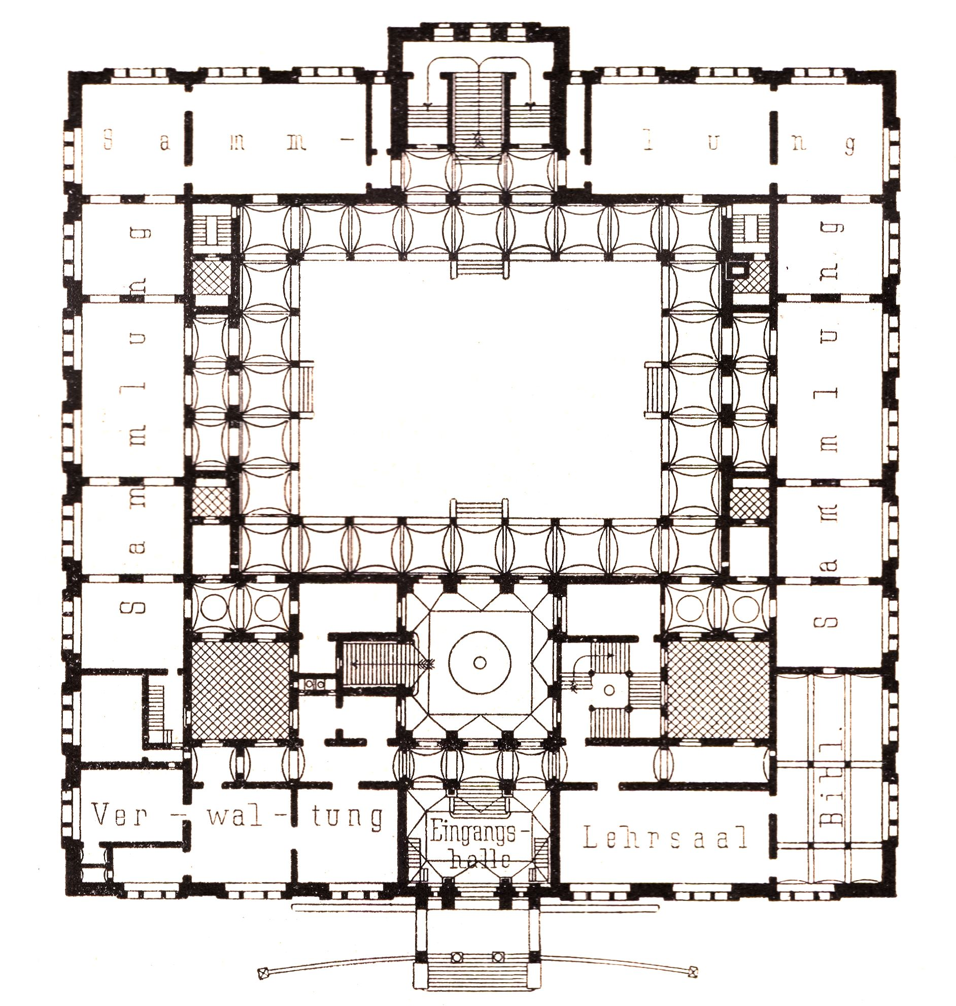 fil berlin ehemaliges kunstgewerbemuseum grundriss wikipedia. Black Bedroom Furniture Sets. Home Design Ideas
