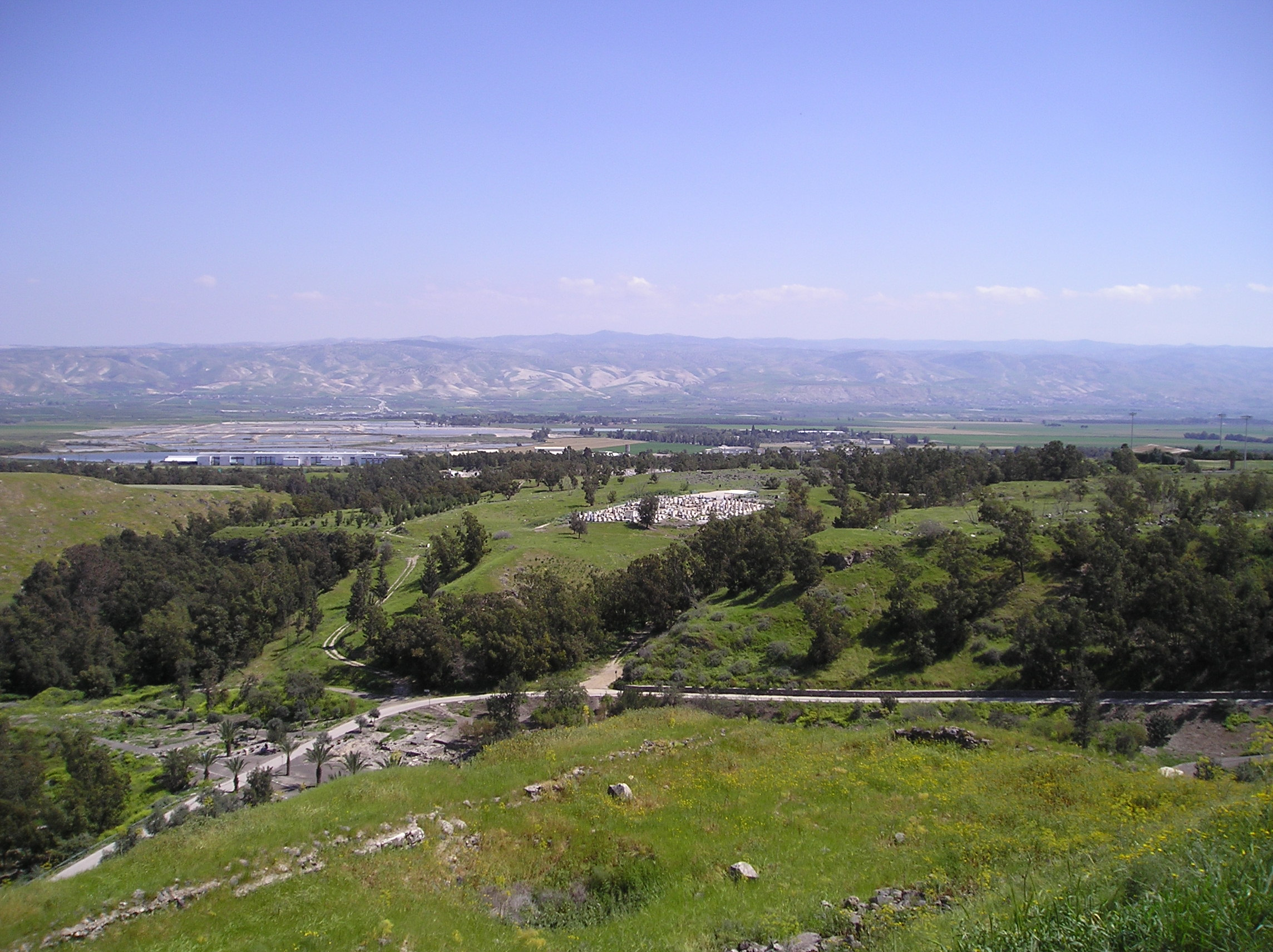 رحلة مدينة بيسآن الفلسطينية