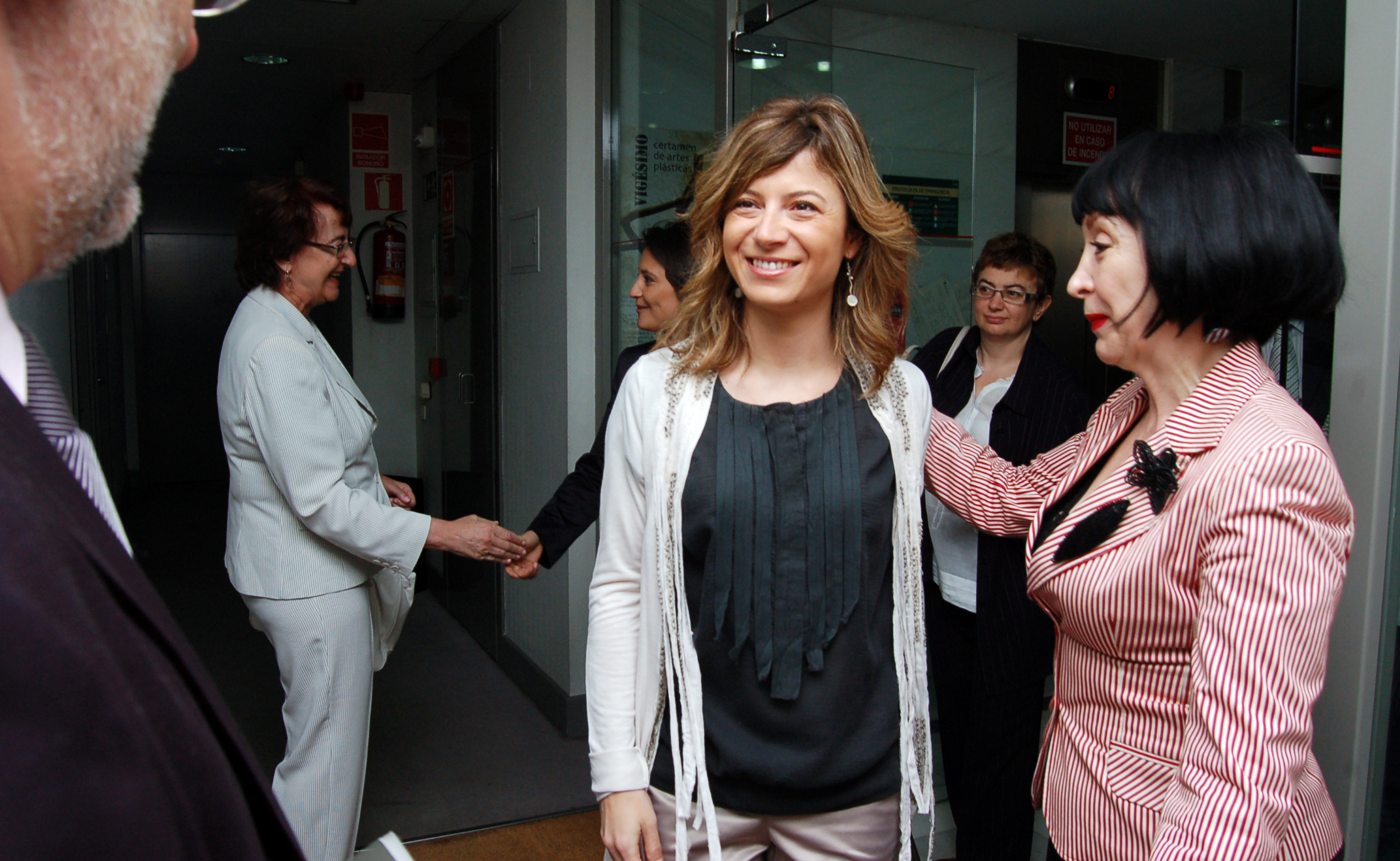 Bibiana Aído, ministra de Igualdad de España entre 2008 y 2010   Foto vía wikimedia commons
