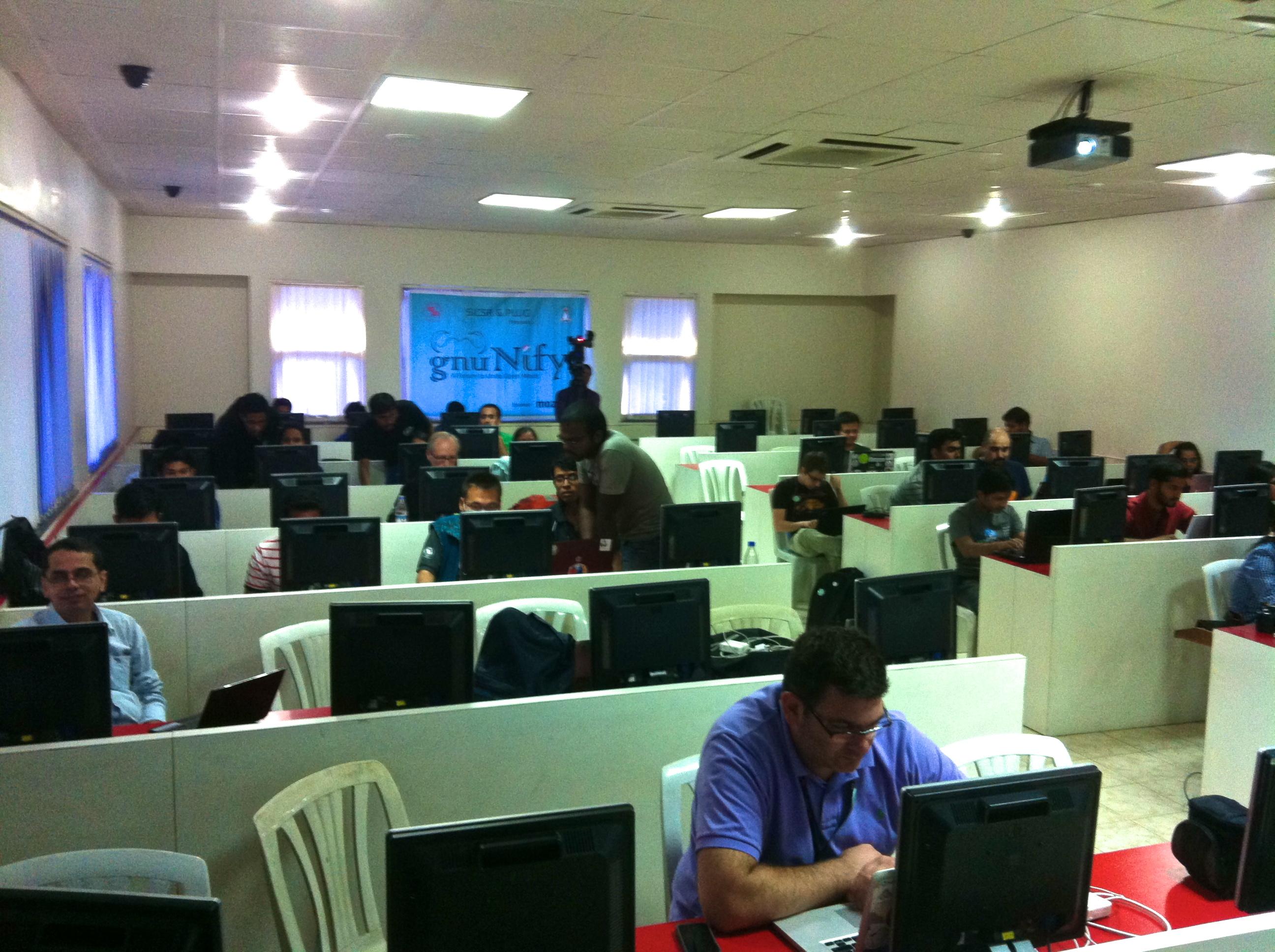 GNUnify је годишњи скуп који се састоји од радионица, разговора и семинара, који се одржава како би се повећала свест слободног и open source софтвера у Индији.