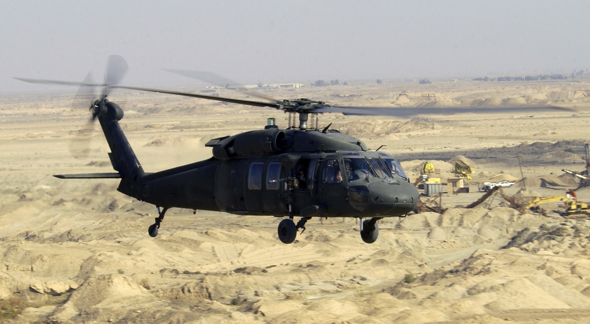 Helicóptero UH-60 Black Hawk