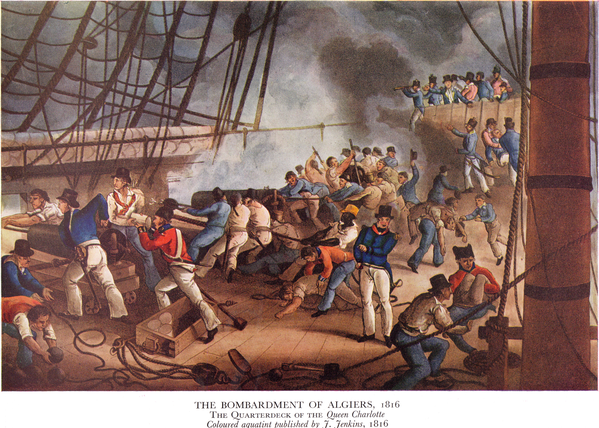 File:Bombardement of Algiers 1816.jpg