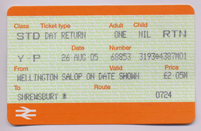 show topic paper tickets ticket barriers london england