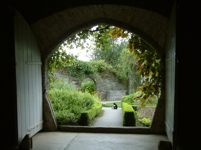 Buckland Abbey, The Herb Garden - geograph.org.uk - 210993
