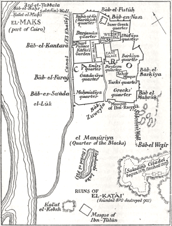 Cairo_map_pre1200_byLanePoole.png