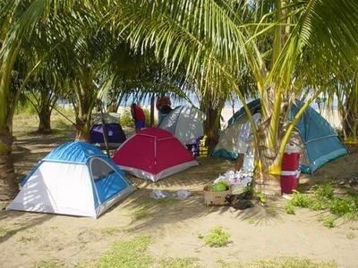 tiendas en camping