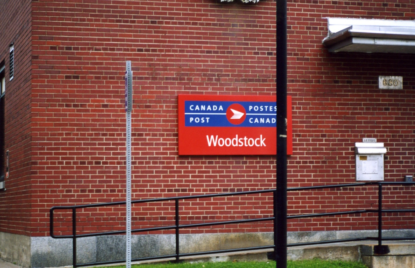 Woodstock (NB) Canada  city pictures gallery : Canada Post Woodstock NB Wikimedia Commons