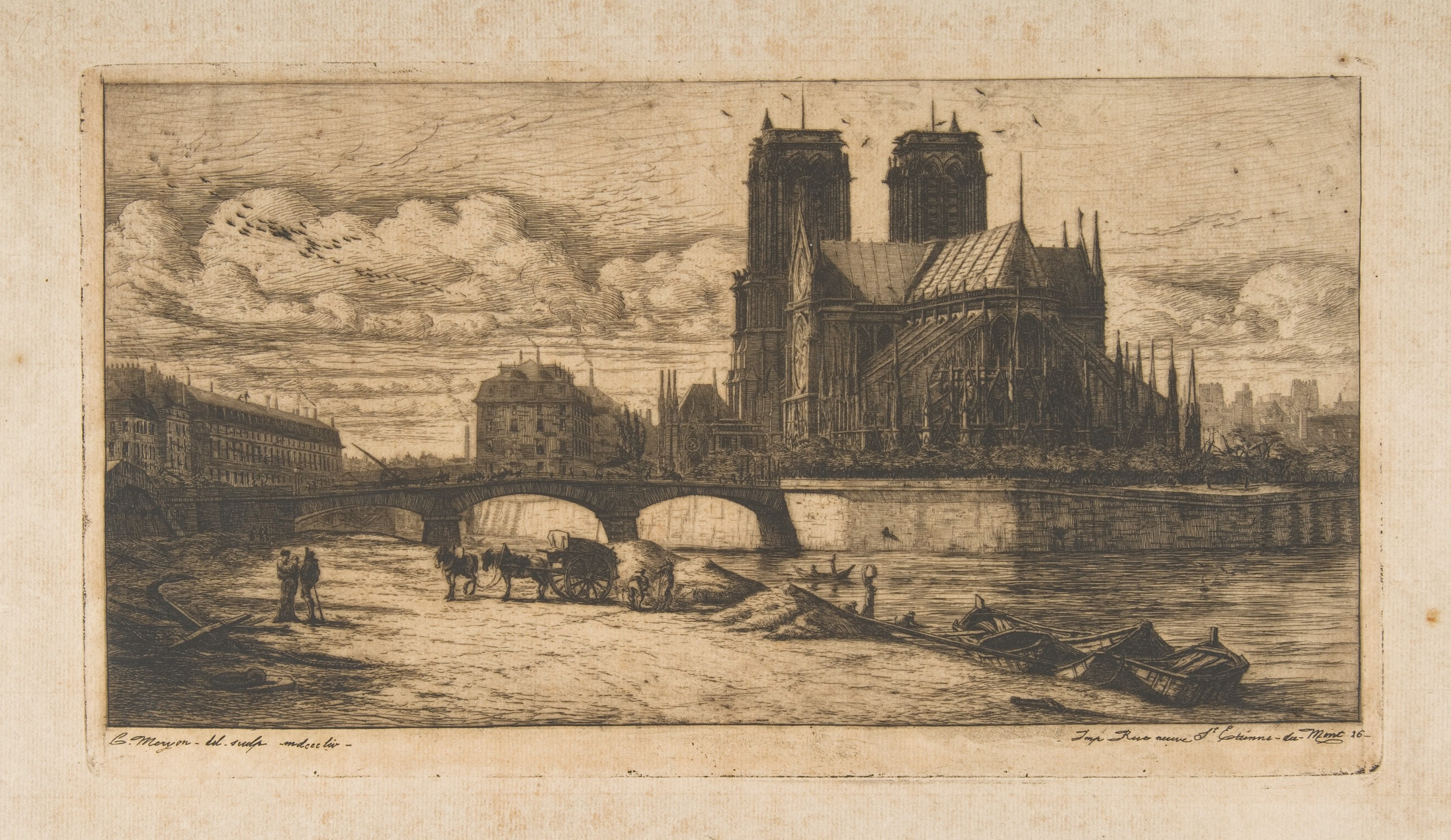 File:Charles Meryon, The Apse of Notre-Dame, Paris, 1854.