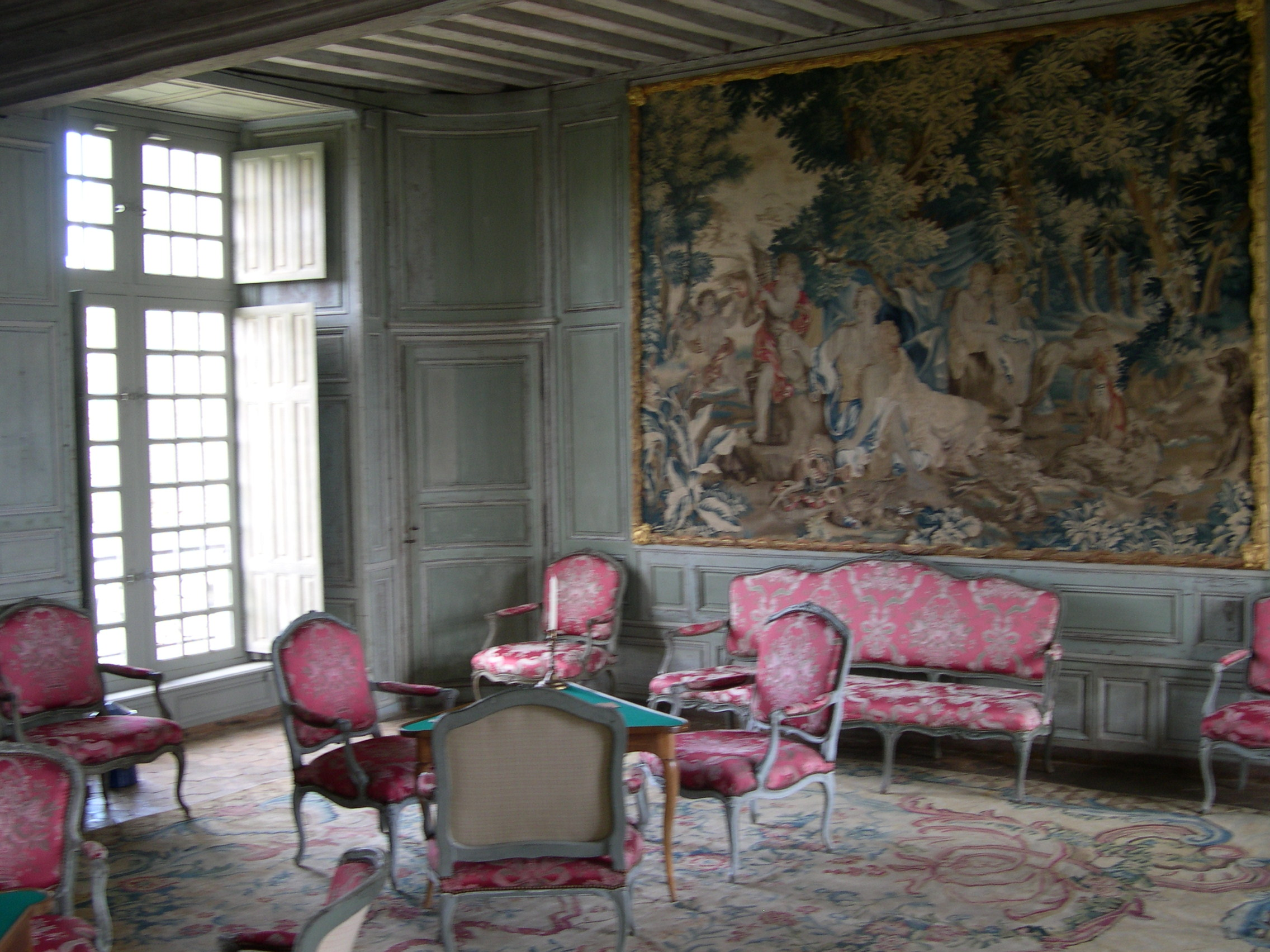File chateau de talcy interieur 04 jpg wikimedia commons for Interieur french
