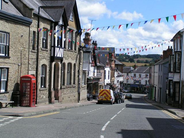 Church street, Kington - geograph.org.uk - 958011