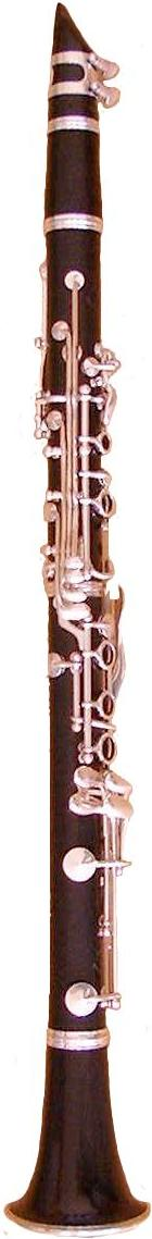 Clarinet with a Boehm System.