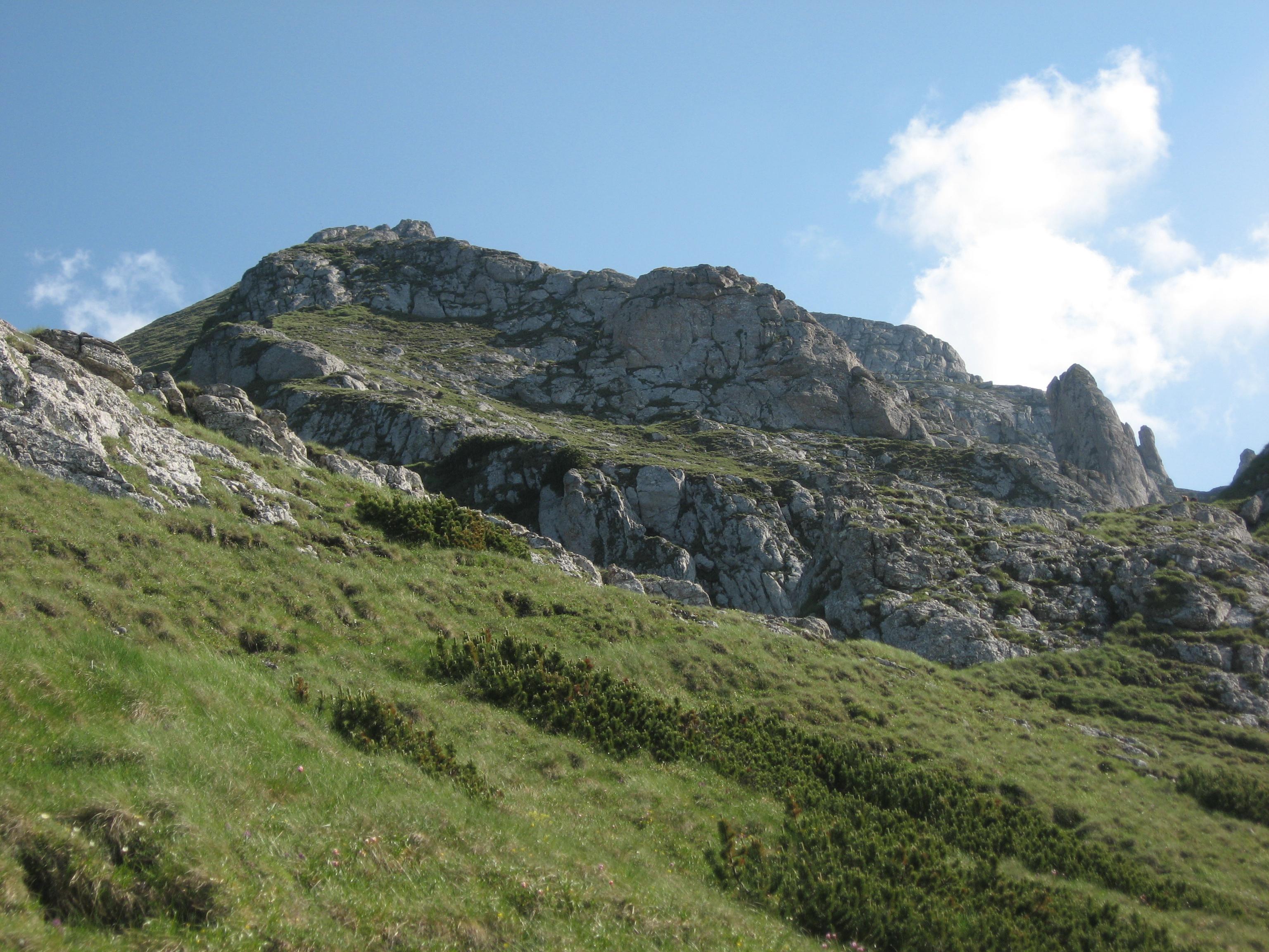 Bucegi (Abruptul Bucșoiu, Mălăești, Gaura)