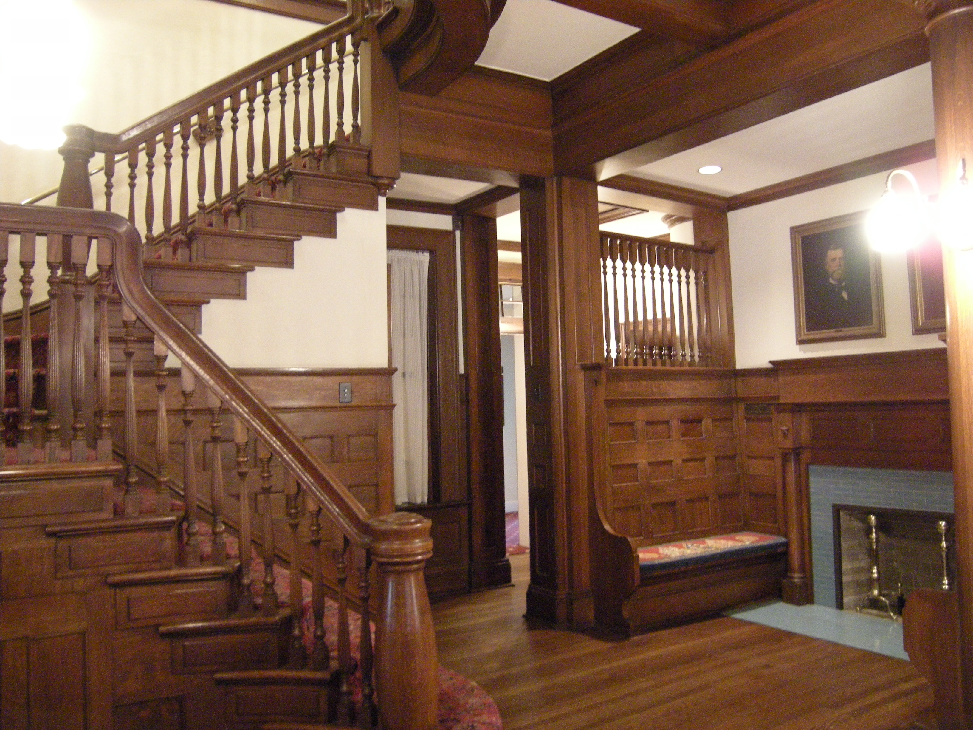 File dallas a h belo house interior wikimedia for Interior home
