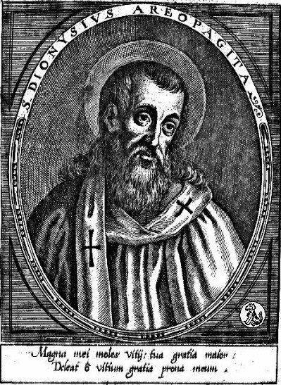 Dionysius the Areopagite, first bishop of Athens Dionysius Areopagita.jpeg