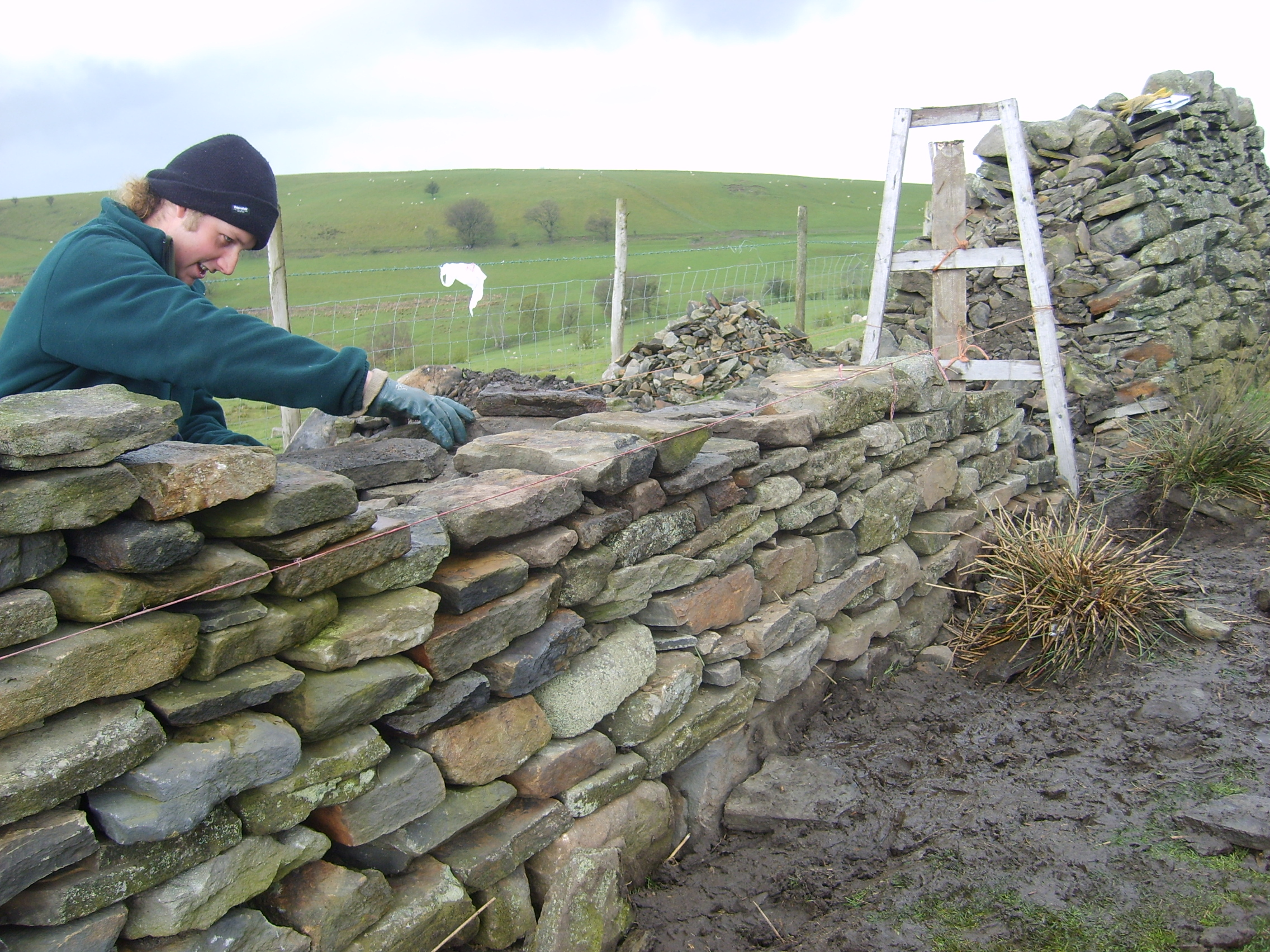 Stone Wall Construction : Dry stone wikidwelling fandom powered by wikia
