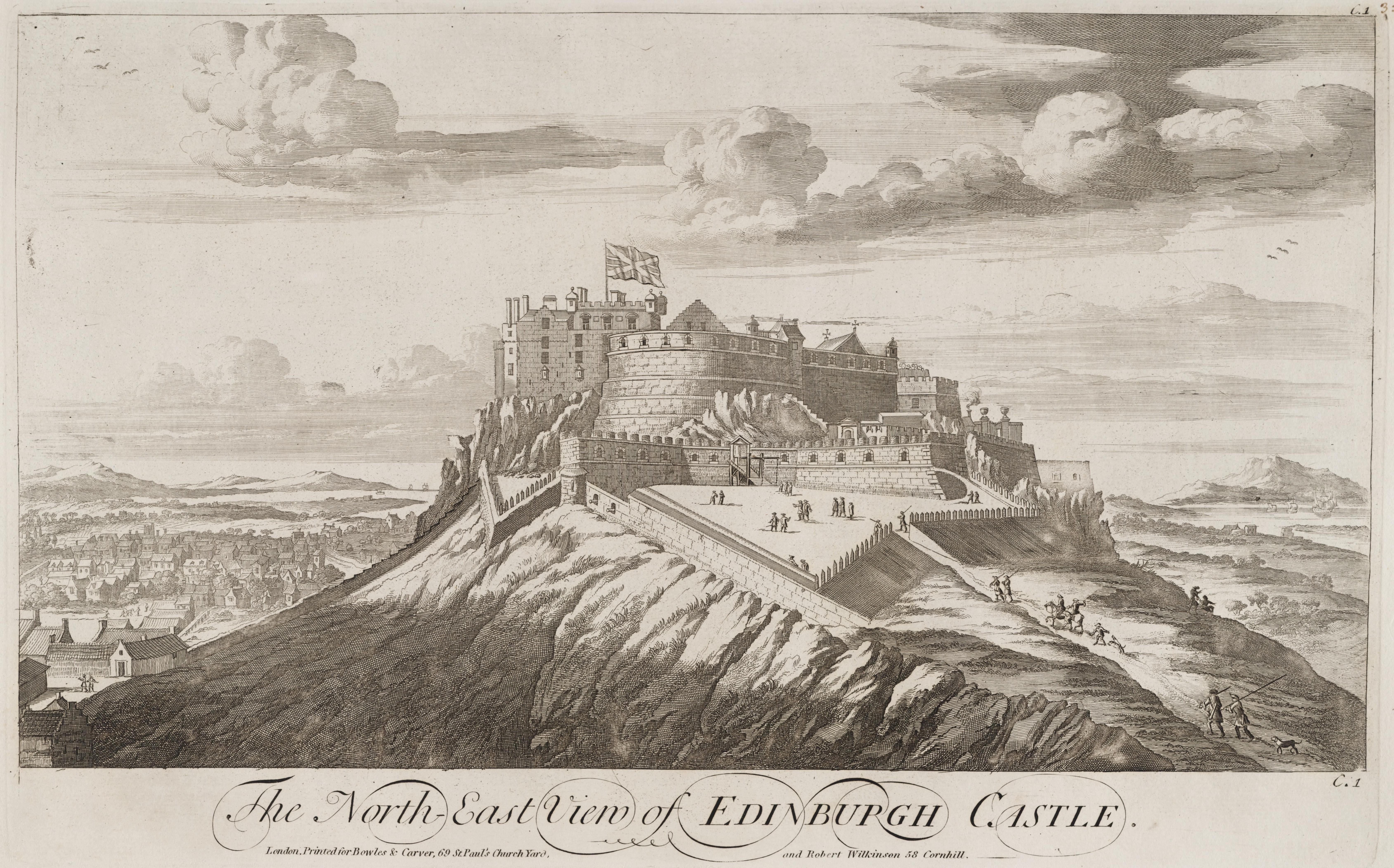 file edinburgh castle john slezer     wikimedia commons
