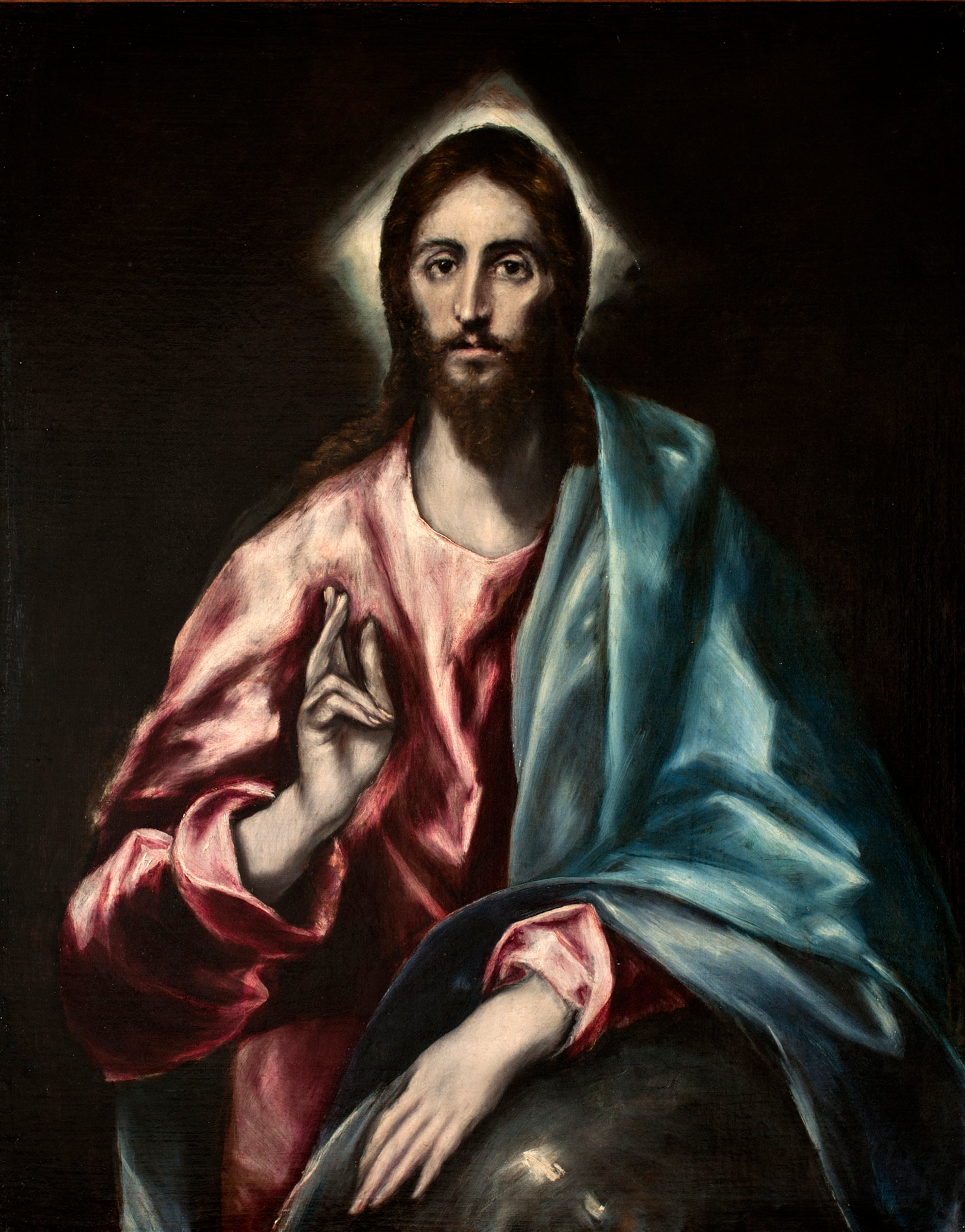 http://commons.wikimedia.org/wiki/File%3AEl_Greco_-_Christ_as_Saviour_-_Google_Art_Project.jpg