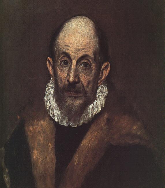 El Greco, ya anciano