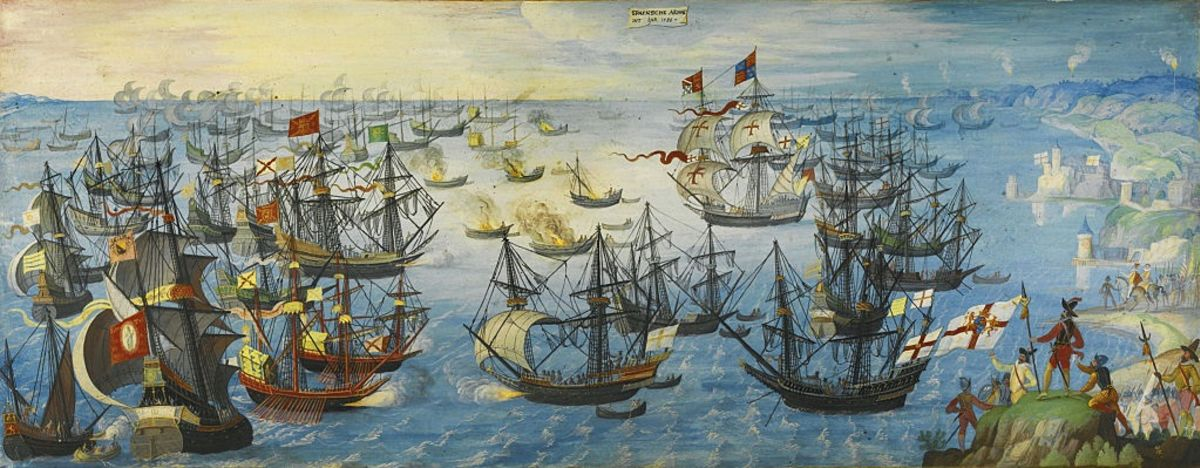 when was spanish armada defeated