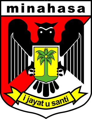 Emblem of Minahasa Regency