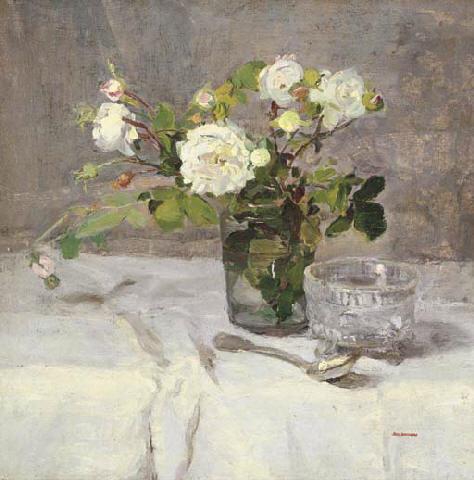 File:Eva Gonzalès - Roses dans un verre.jpg