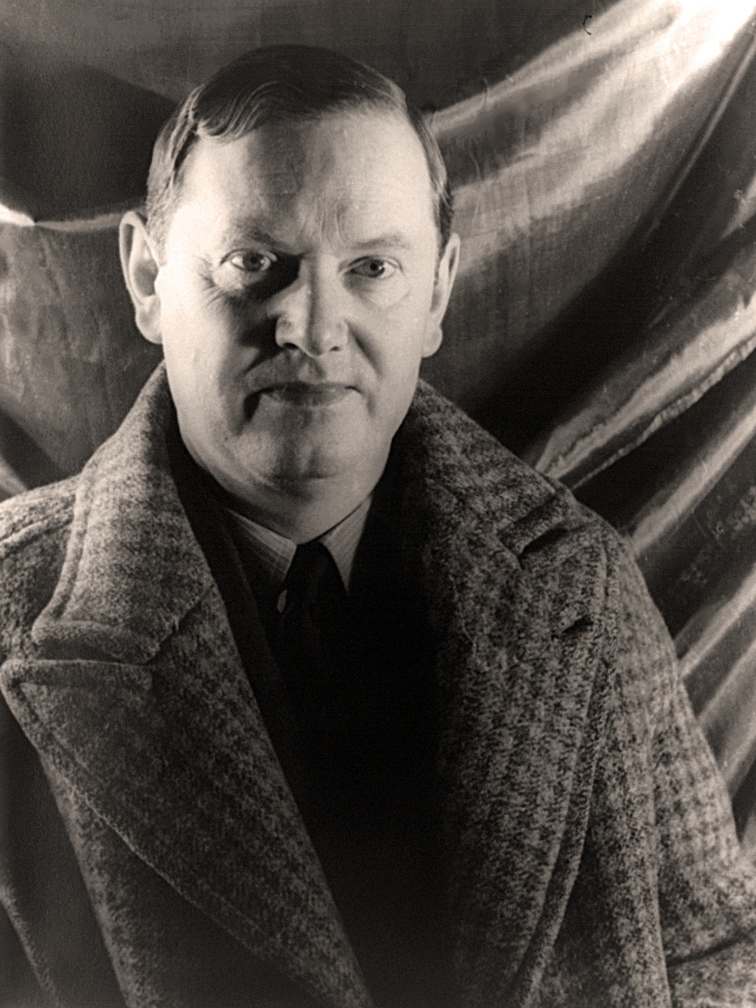 Evelyn Waugh, photographed in about 1940