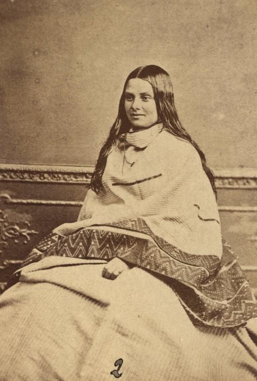 Old Maori Women: Young Maori Woman 1998-3164-173.jpg
