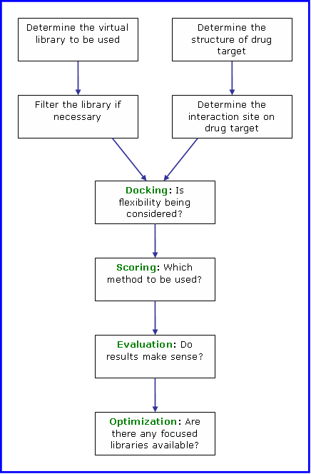 In Silico Drug Discovery Flowchart