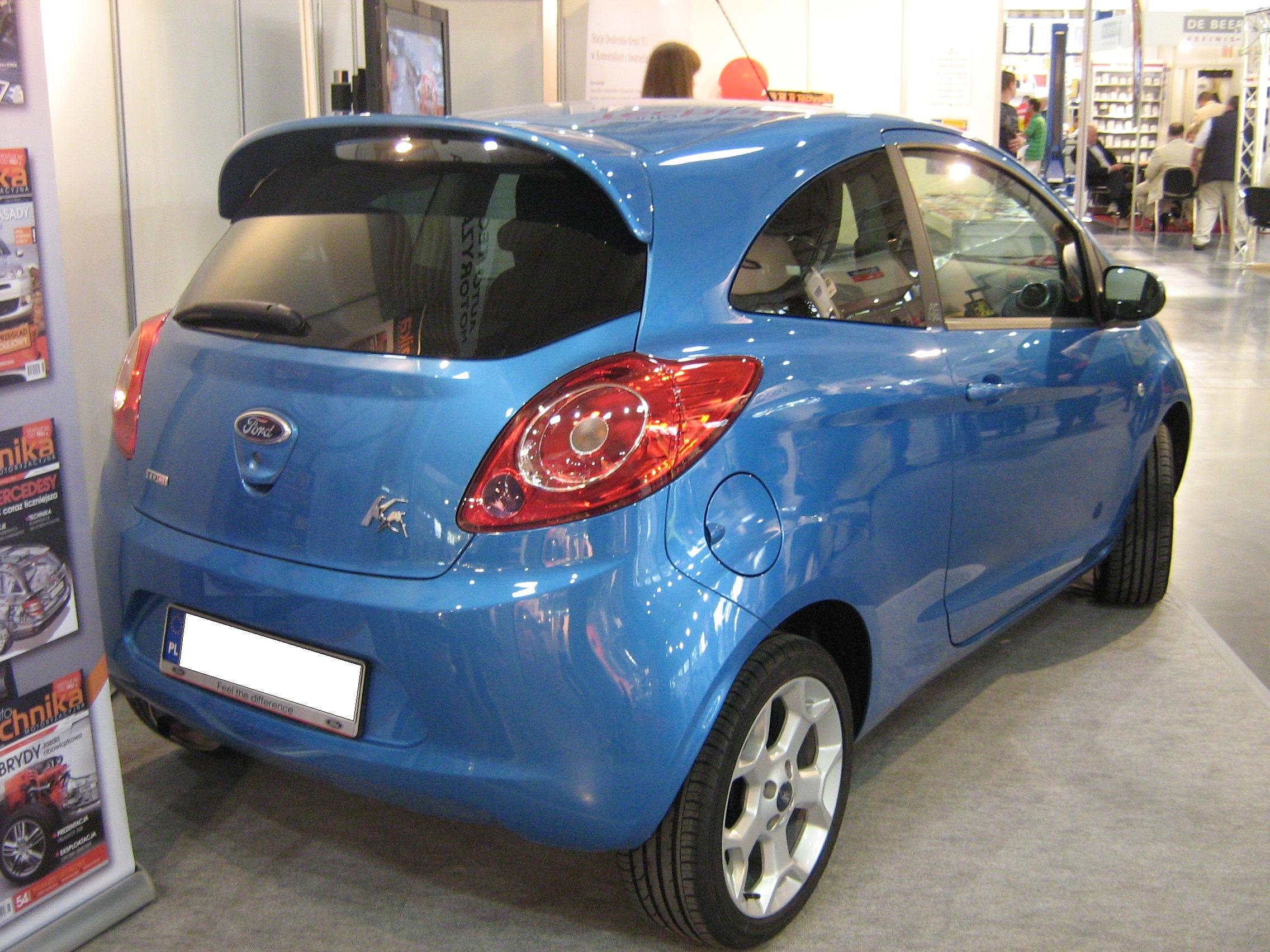 file ford ka ii rear ttm wikimedia commons. Black Bedroom Furniture Sets. Home Design Ideas