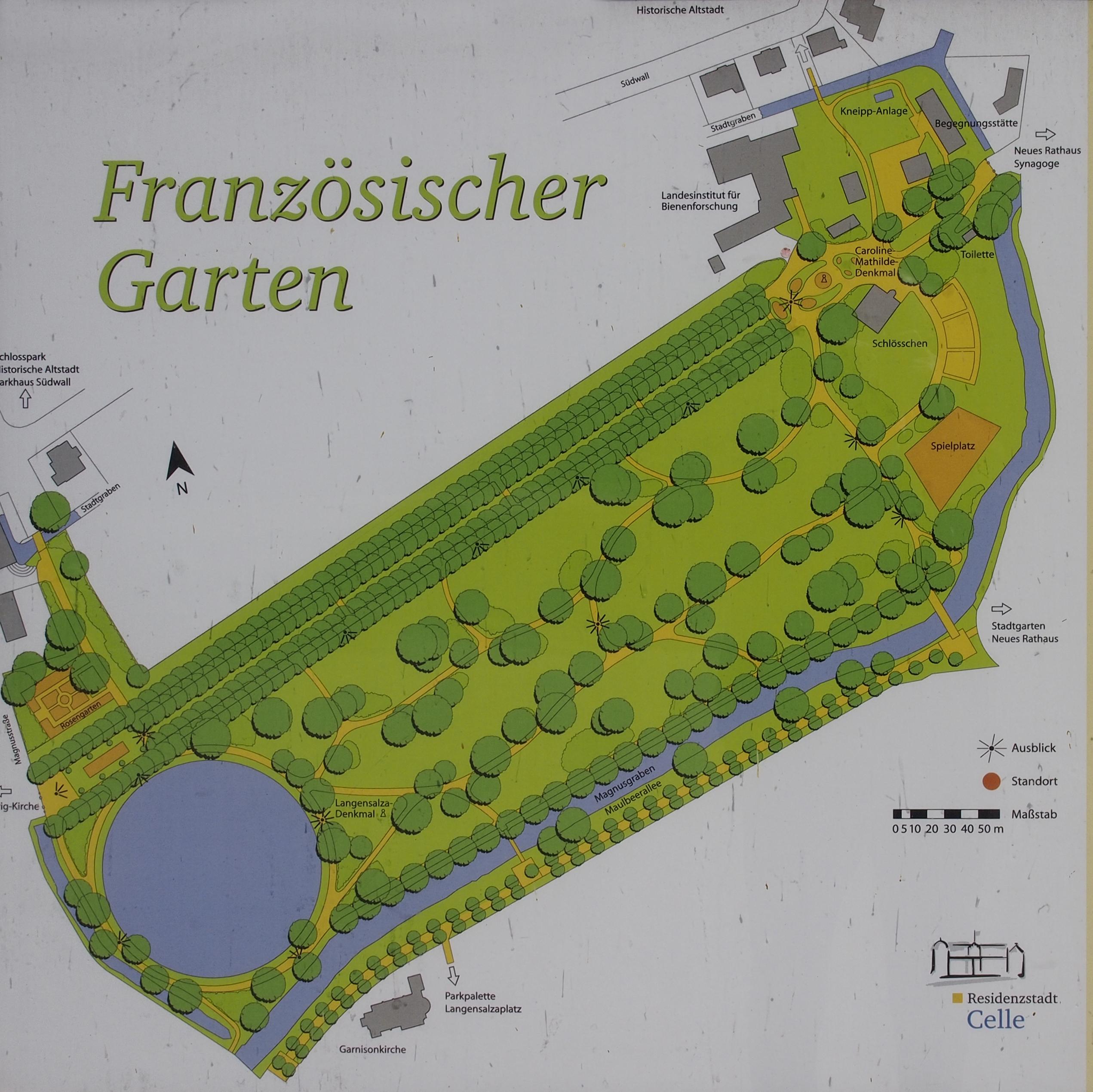Gartenplan  File:Französischer Garten Plan.jpg - Wikimedia Commons